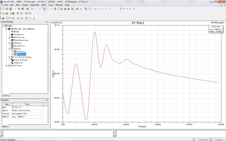 HFSS time domain simulation