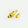 MMCX plug straight crimp connector for RG316/U cable 50 ohm 5MCM11S-A02-016