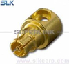 "SMP jack straight connector for .086"" cable 50 ohm 5SPF15R-S01-014"