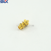 SMA jack straight solder connector for FLEXIFORM 402 NM FL cable bulkhead front mount 50 ohm 5MAF15S-S02-012