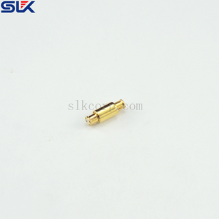 SMP female to SMP female straight adapter 50 ohm 5SPF-SPF-S