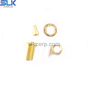 SMA jack straight connector for 1.13 cable 50 ohm 5MAF15S-A60-009