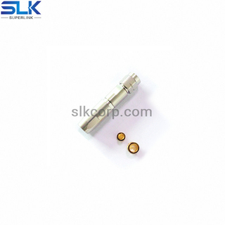 1.85mm plug straight solder connector for SPB-230 cable 50 ohm 5P1M15S-A552-002