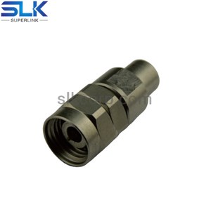 SSMP male to 2.4mm male straight adapter 50 ohm 5MPM06S-P4M