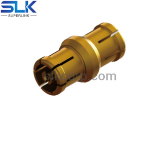 SSMP female to SSMP female straight adapter 50 ohm 5MPF06S-MPF-001