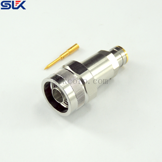 N plug straight solder connector for SPP-250 cable 50 ohm 5NCM13S-A373