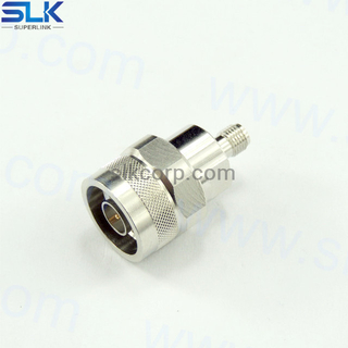 SMA female to N female straight adapter 50 ohm 5MAF06S-NCF-003