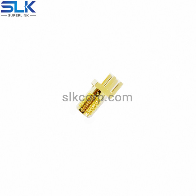 SMA jack straight connector for pcb end launch 50 ohm 5MAF28S-P41-020