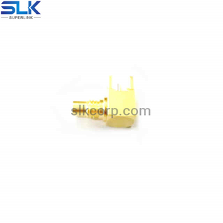 SMC jack right angle connector for pcb 50 ohm 5AMF25R-P41-001