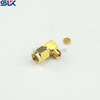 SMA plug right angle solder connector for HF-190 cable 50 ohm 5MAM15R-A231-008