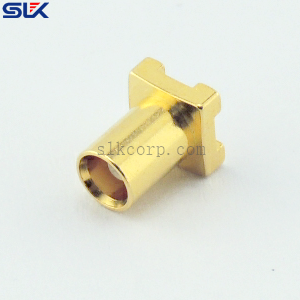 MCX jack straight connector for pcb 50 ohm 5MXF20S-P10