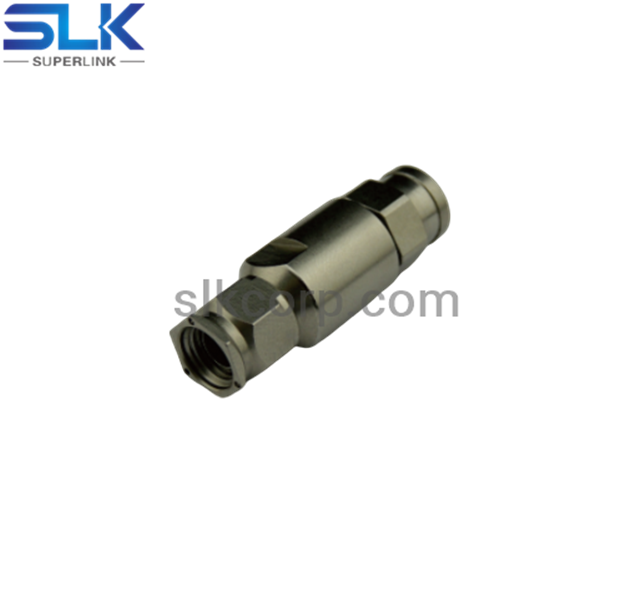 SMA plug straight solder connector for P-Tflex402 cable 50 ohm 5MAM15S-A376