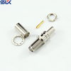 SMA plug straight solder connector for HF290 cable 50 ohm 5MAM15S-A210-002