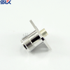 TNC jack straight solder connector for 4 hole flange cable 50 ohm 5TCF85S-H41-002