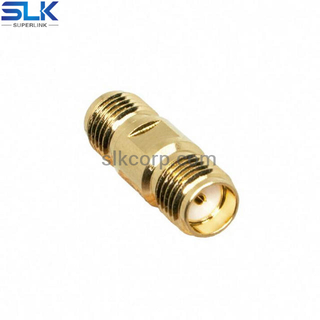SMA female to SMP-MAX female straight adapter 50 ohm 5MAF06S-SXF