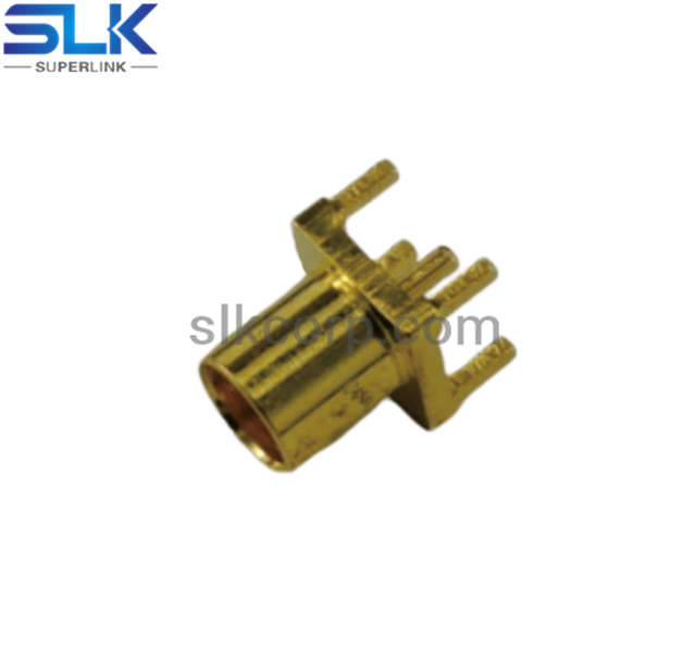 MMCX jack straight connector for pcb smt 50 ohm 5MCF25S-P01-008