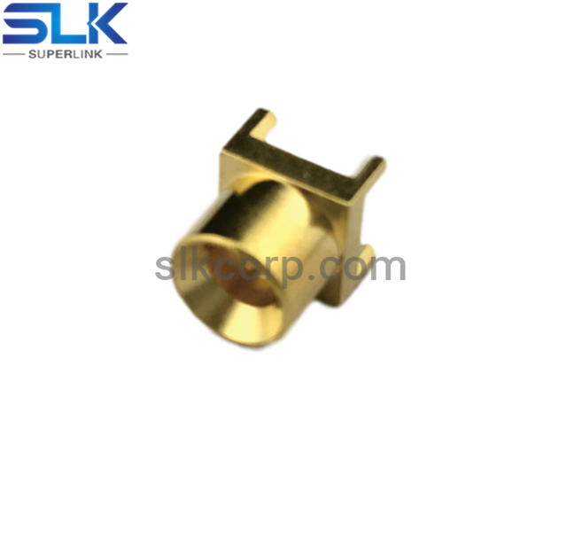 SMP plug straight connector for pcb end launch 50 ohm 5SPM25S-P41-026
