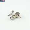 1.6/5.6 plug right angle crimp connector for SYV-75-2-1 cable 75 ohm 7A5M11R-A642