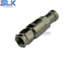 2.4mm male straight solder connector for Tflex-405 cable 50 ohm 5P4M15S-A82