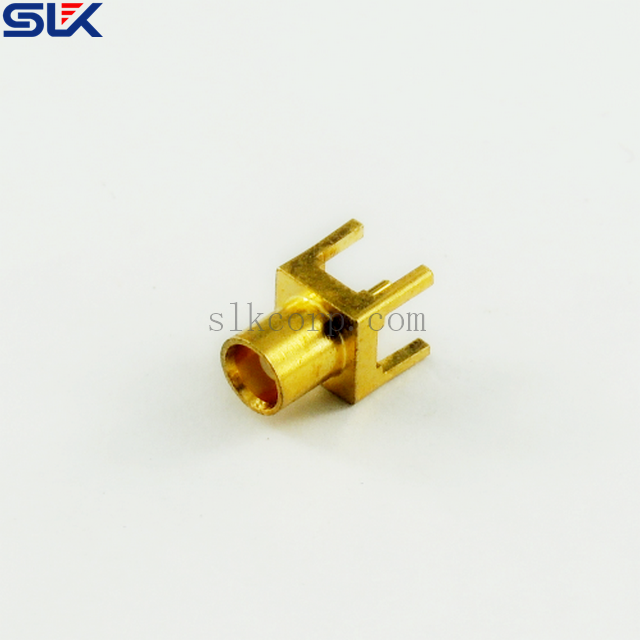 MCX jack straight connector for pcb 50 ohm 5MXF05S-P02