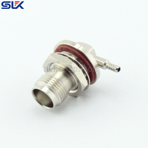 TNC jack stright solder connector for 670-086 cable 50 ohm 5TCF35R-S01-001