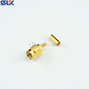 SMA plug straight crimp connector for RG316 cable 50 ohm 5MAM11S-A02-067