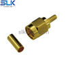 SMA plug straight crimp connector for RG316/174 LMR-100A cable 50 ohm 5MAM11S-A02-023