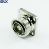 7/16 jack straight connector 4 holes flange 50 ohm 5A7F55S-P01-011