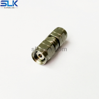 1.85mm male to 1.35mm male straight adapter 50 ohm 5P1M06S-T2M