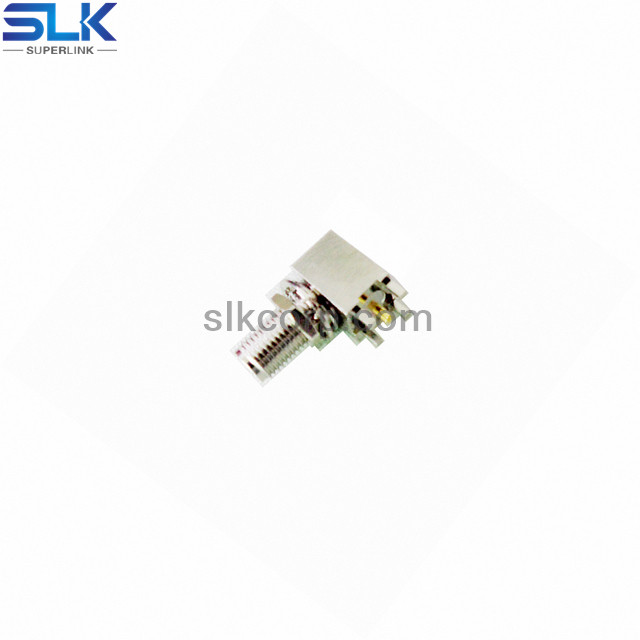 SMA jack right angle connector for pcb 50 ohm 5MAF35R-P41