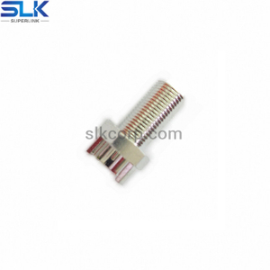 F jack straight connector for pcb end launch 75 ohm 7FCF28S-P21-001