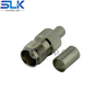 TNC jack straight crimp connector for LMR-195 cable 50 ohm 5TCF11S-A41-004