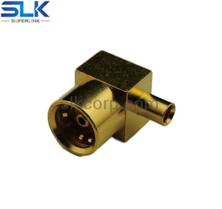 BMA jack right angle solder connector for Tflex-405 cable 50 ohm 5BMF15R-A82
