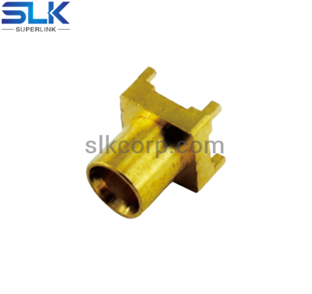 MCX jack straight connector for pcb 50 ohm 5MXF25S-P41-013