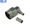 N plug right angle crimp connector for LMR200 cable 50 ohm 5NCM11R-A08-002