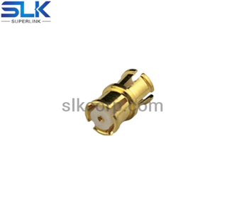 SMP female to SMP female straight adapter 50 ohm 5SPF06S-SPF-032